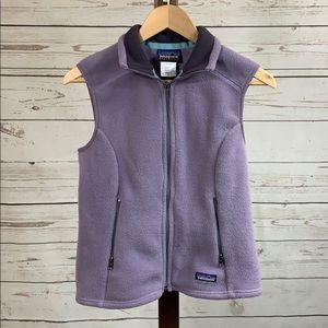 Patagonia Synchilla Light Purple Vest